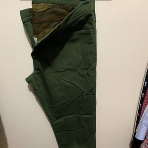 J. Crew flannel lined 770 chinos